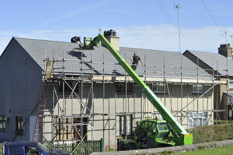 Emerge Construction Group-Roof Installation